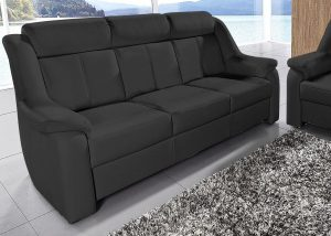 "Trivietė odinė sofa ""Basel"""