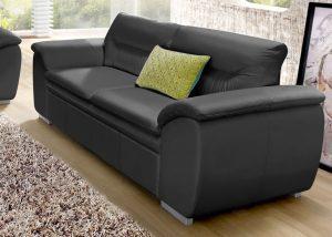 """Minkšta odinė sofa """"Leandra"""""""