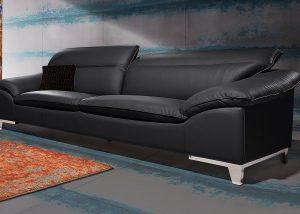 """Minkšta odinė sofa """"Teresa"""" 3"""