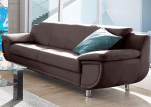"""Minkšta odinė sofa """"Rondo"""" 3"""