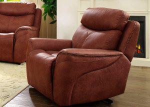 """Minkštas fotelis """"Pius"""" su relax funkcija"""