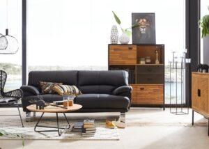 """Minkšta odinė sofa """"Cecilia"""" 3"""