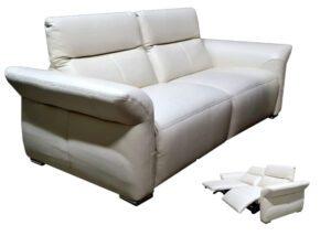 "Minkšta odinė sofa ""Impresion"" su relax funkcija"