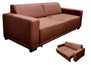"""Minkšta odinė sofa """"Nova"""""""
