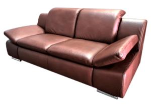 "Minkšta odinė sofa ""Santos"" 3"